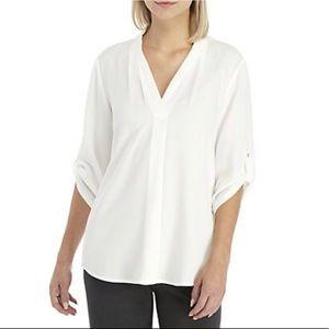 Calvin Klein 3/4 Sleeve Blouse